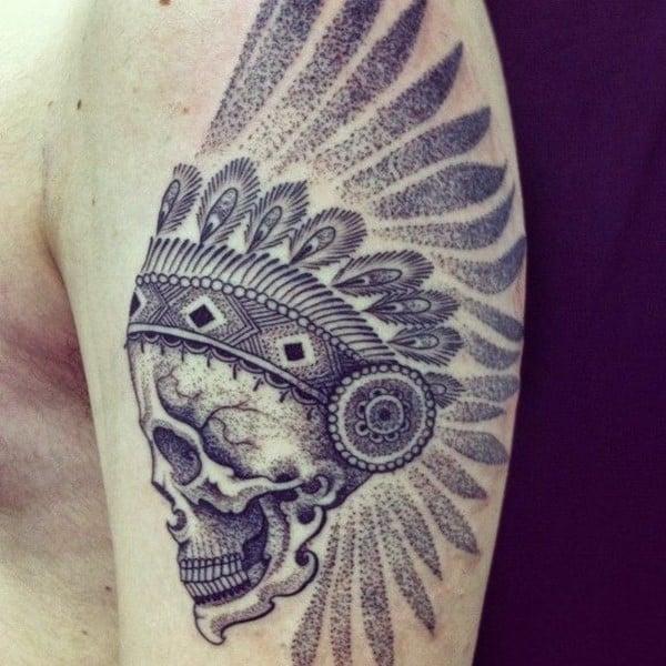 Dotwork-Native-Skull-578x578