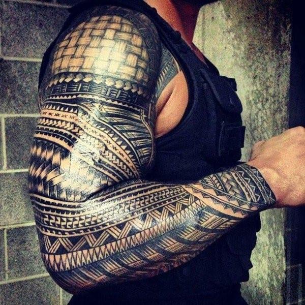 Samoan-full-sleeve-tattoo-600x600