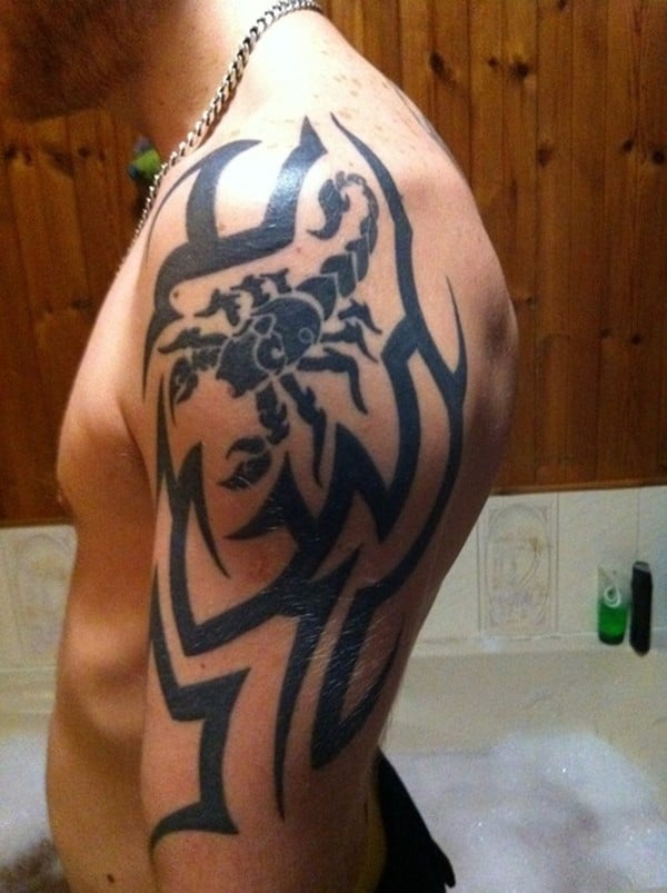 Scorpion-Tribal-Tattoos-7