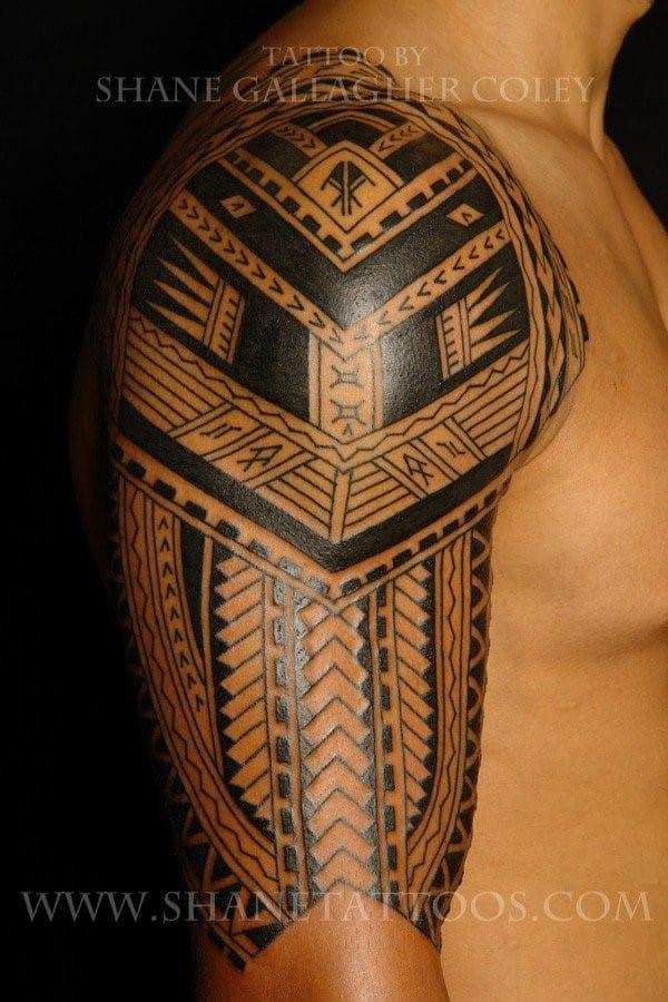 Sleeve-Samoan-Tattoo-for-men-600x900