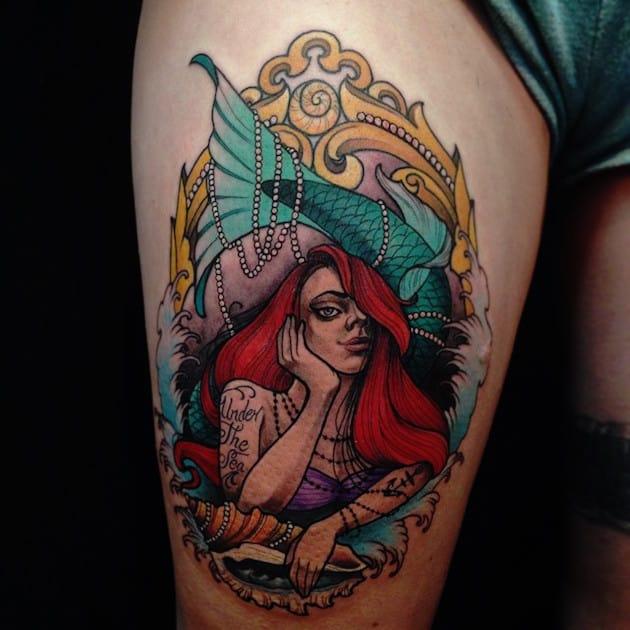 areil-emo-little-mermaid-tattoo