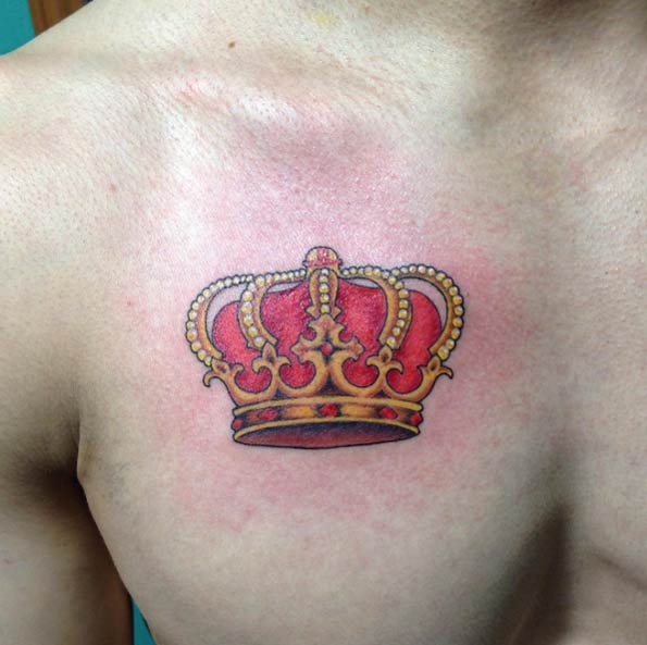 Crown Tattoo by Tuxtla Gutiérrez