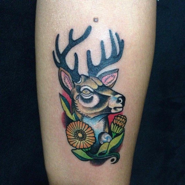 150 Meaningful Deer Tattoos An Ultimate Guide October 2018