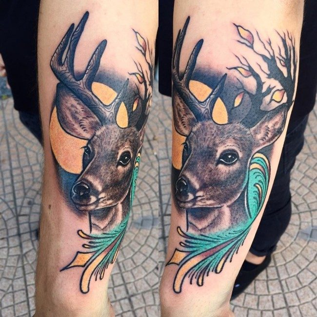 d8e5cea5b 150 Meaningful Deer Tattoos (An Ultimate Guide, July 2019)