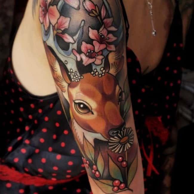 deer tattoos (2)