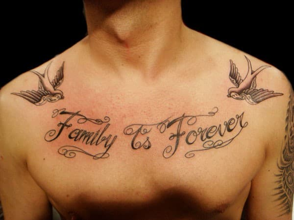 Family Tattoo Designs For Men With Meaning