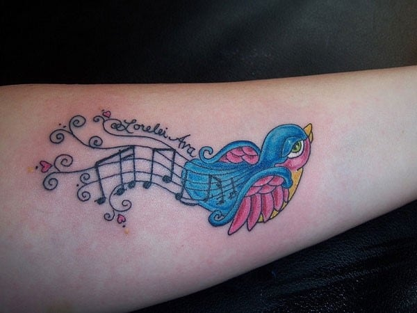 musical-bird-tattoo