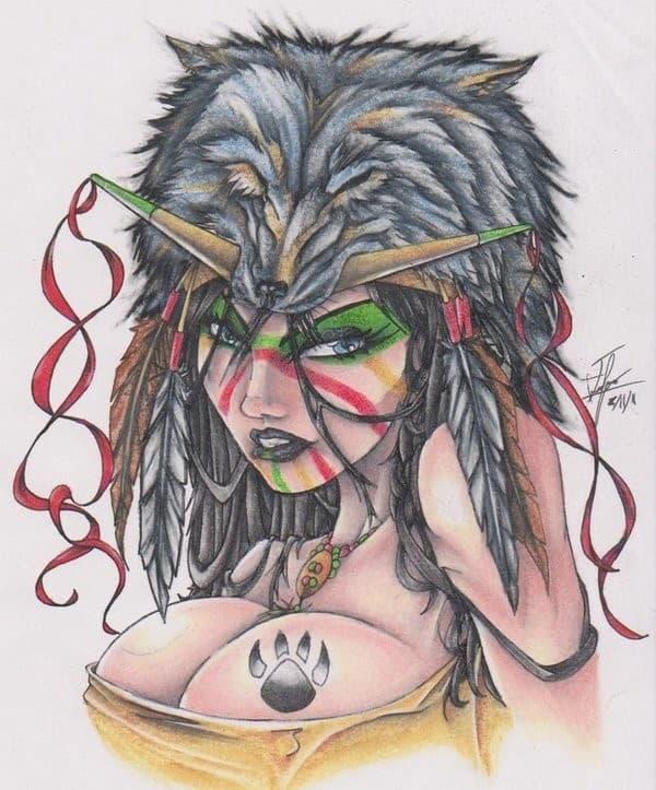 native-american-indian-girl-tattoo-08