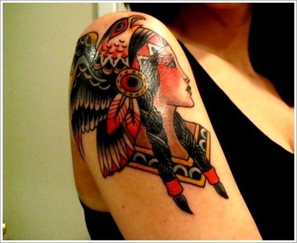 113 Mesmerizing Native American Tattoos December 2018