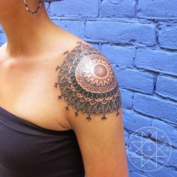 shoulder tattoos for girls 2