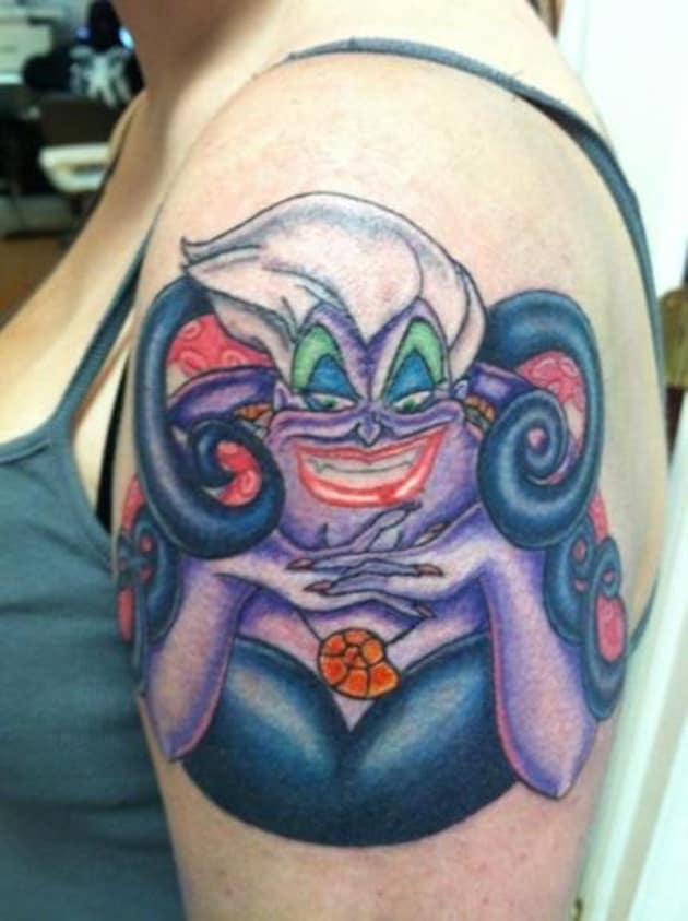 ursula-little-mermaid-tattoos