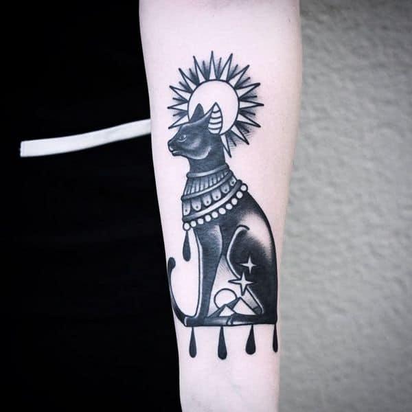 Egyptian tattoo