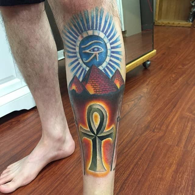 100 Mystifying Egyptian Tattoos Designs October 2018