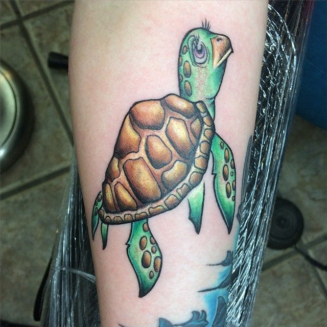 150 Popular Sea Turtle Tattoo Designs And Meanings (March ...