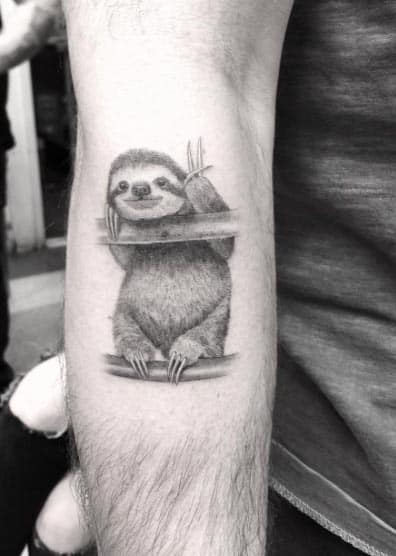 Sloth Tattoo by Doctor Woo