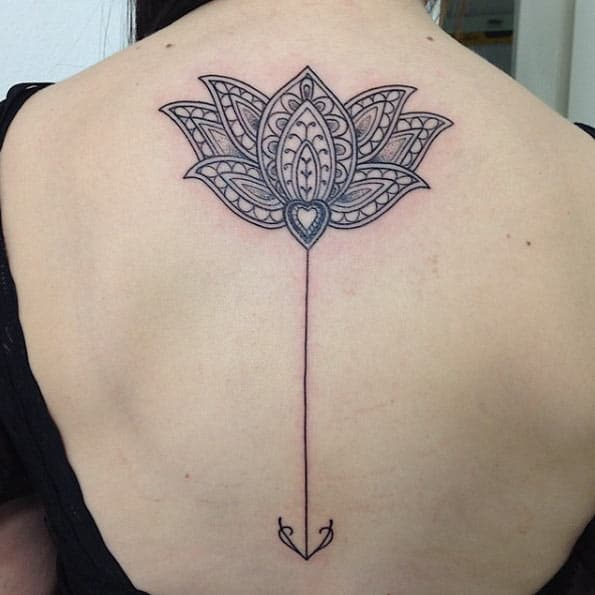 Lotus Flower Tattoo by Anderson Reis