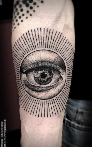 Eye Tattoo by Otheser