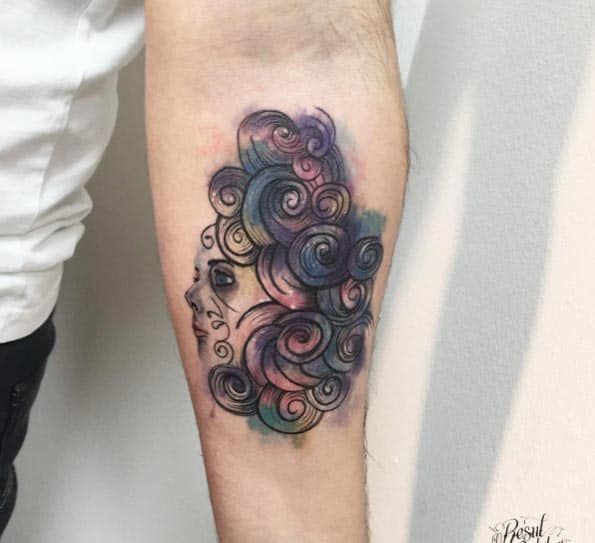 Gorgeous Forearm Tattoo by Resul Odabas