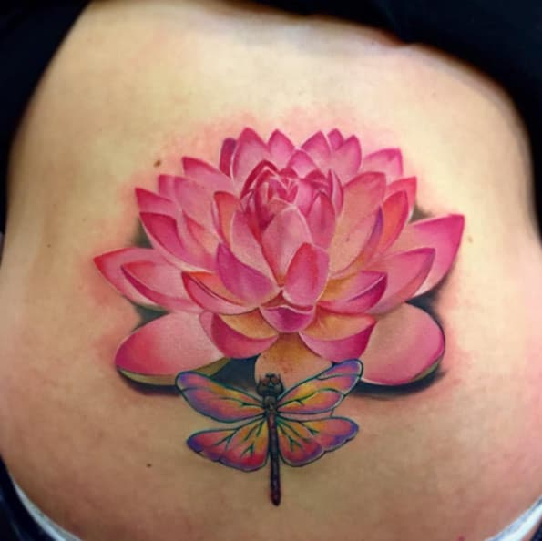 160 small lotus flower tattoos meanings november 2018 lotus flower tattoo by jose carlos del campo mightylinksfo