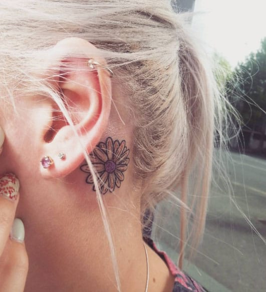 150 sensuous inner behind the ear tattoos ultimate guide january 2019