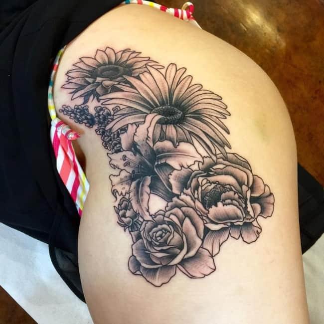 Hip Tattoos