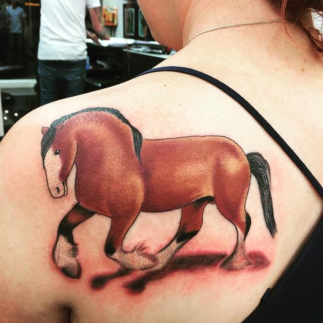 150 best horse tattoos and meanings 2017 collection. Black Bedroom Furniture Sets. Home Design Ideas