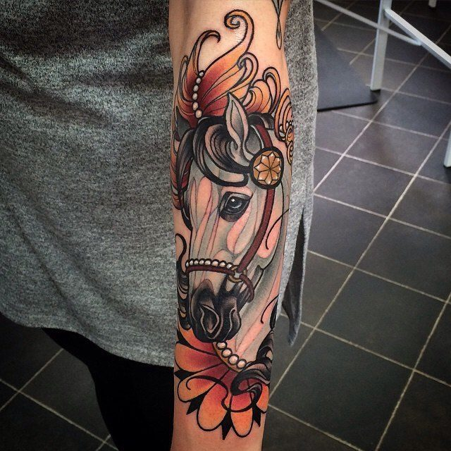c2ce69109 Such tattoo design is actually great for everyone, as long as you choose  the design that matches your own personality and physical appearance. horse  tattoos