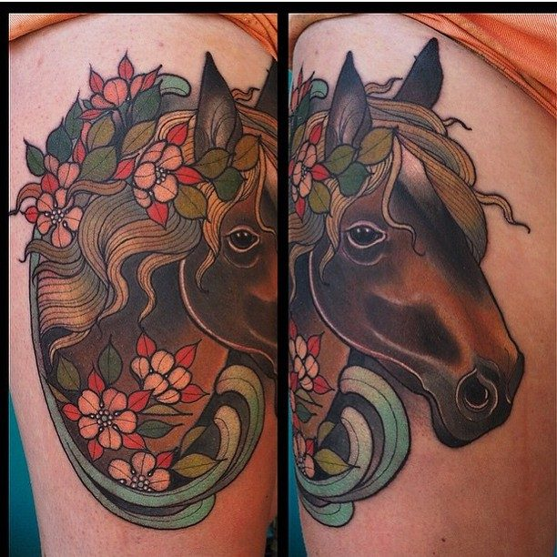 150 Meaningful Horse Tattoos An Ultimate Guide September 2018