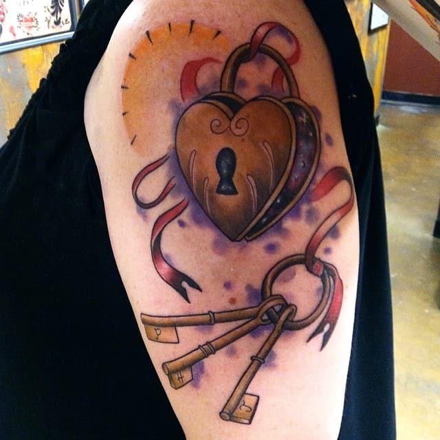 Lock and Key Tattoos