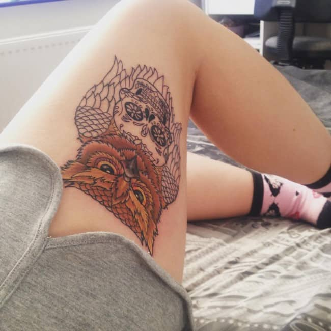 101 thigh tattoo ideas and designs for women zariascom - 610×610
