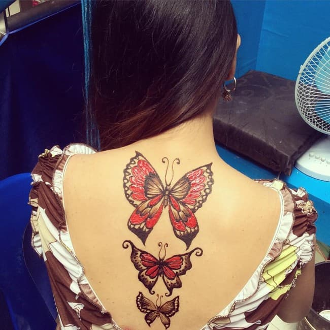 95 gorgeous butterfly tattoos the beauty and the - HD 1080×1080