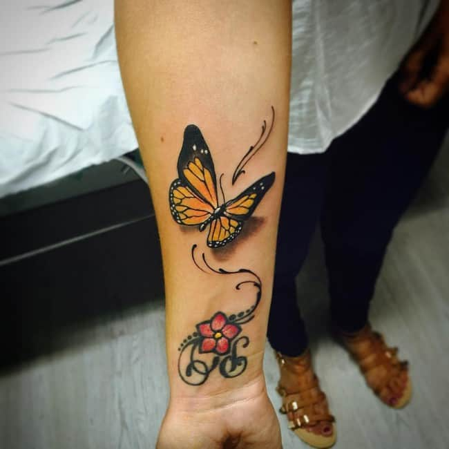 169 Meaningful Butterfly Tattoos (Ultimate Guide, May 2019