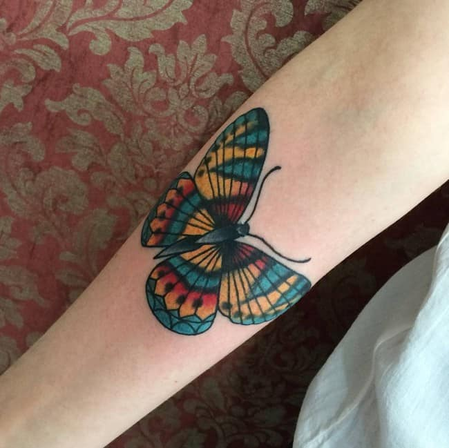 84f723a30 169 Meaningful Butterfly Tattoos (Ultimate Guide, July 2019)