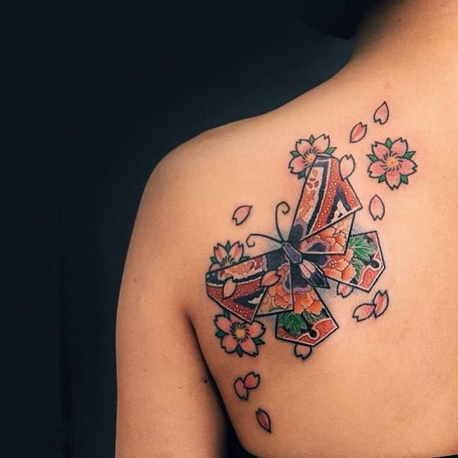 169 Most Attractive Butterfly Tattoos June 2018