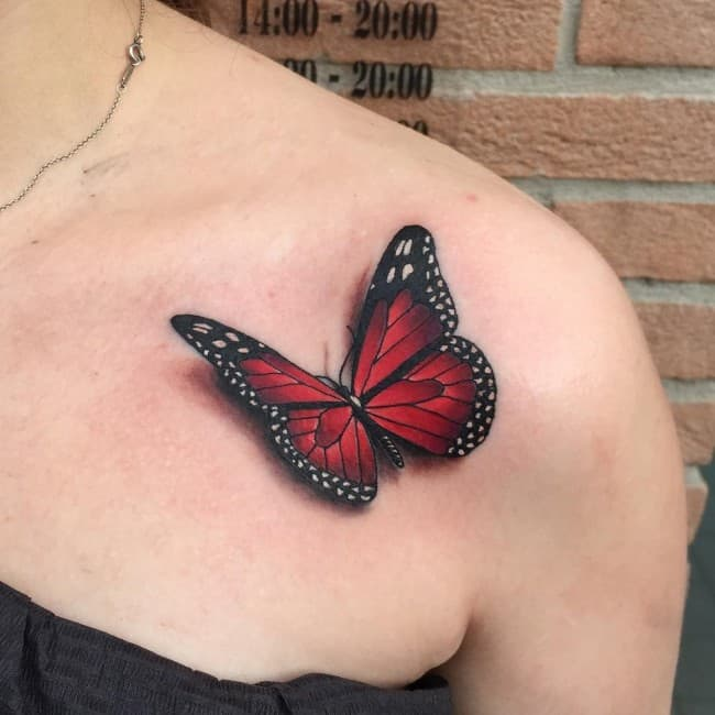169 Most Attractive Butterfly Tattoos [2017 Collection]
