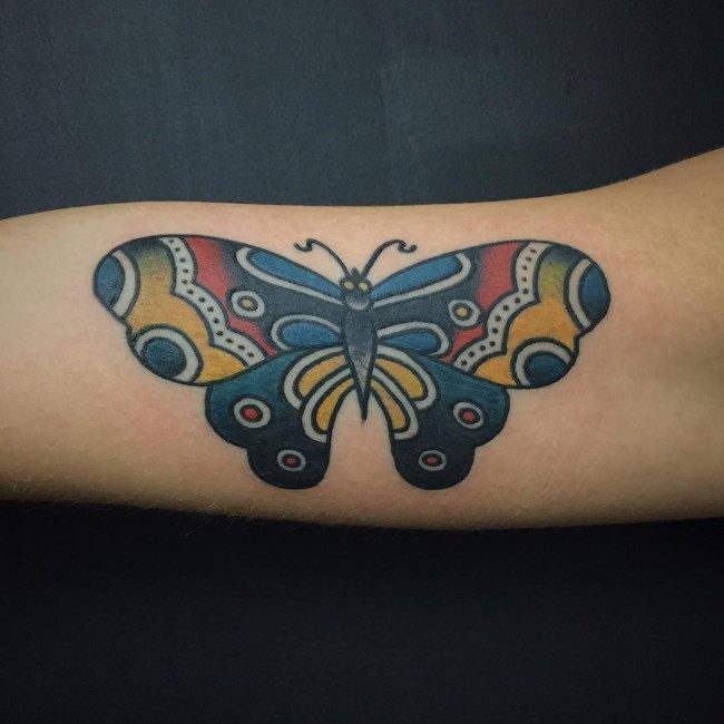 42f358a9c For sure, you already know that the placement of your tattoos will depend  on your decision. Even so, there are several common placements for butterfly  art ...