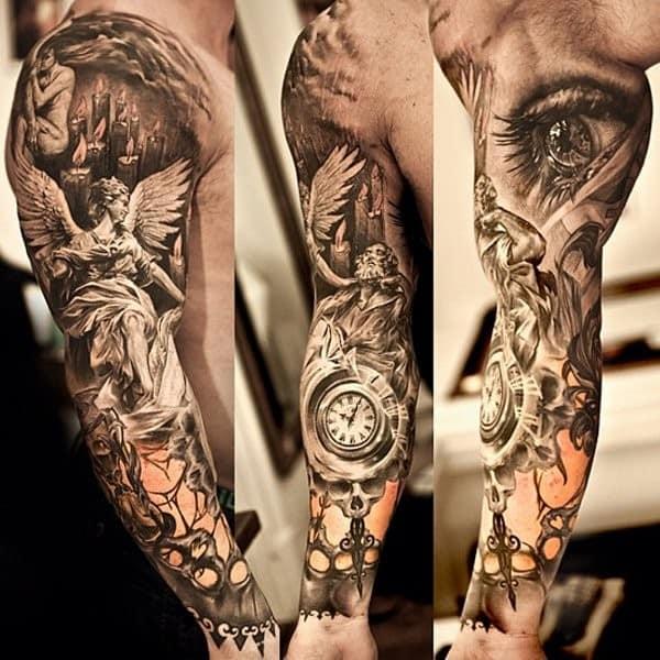 Angel Tattoos In Memory Of
