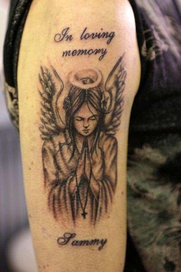 Angel Tattoos On Arm