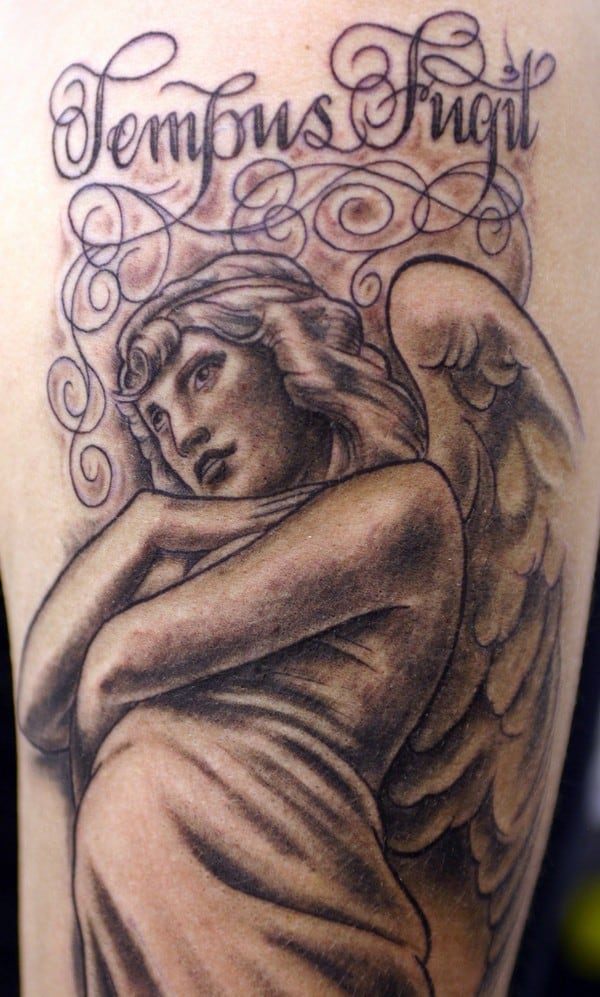 Awesome Angel Tattoo