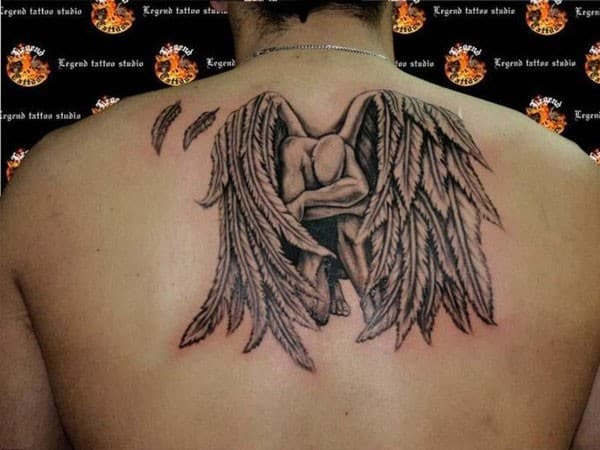 Compelling Angel Tattoo