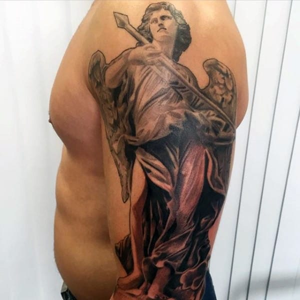 Devil And Angel Tattoos