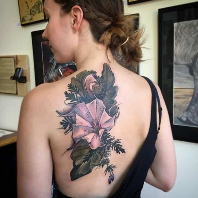 Flower Tattoos Designs Ideas And Meaning: 224 Most Attractive Flower Tattoos And Their Meanings (May