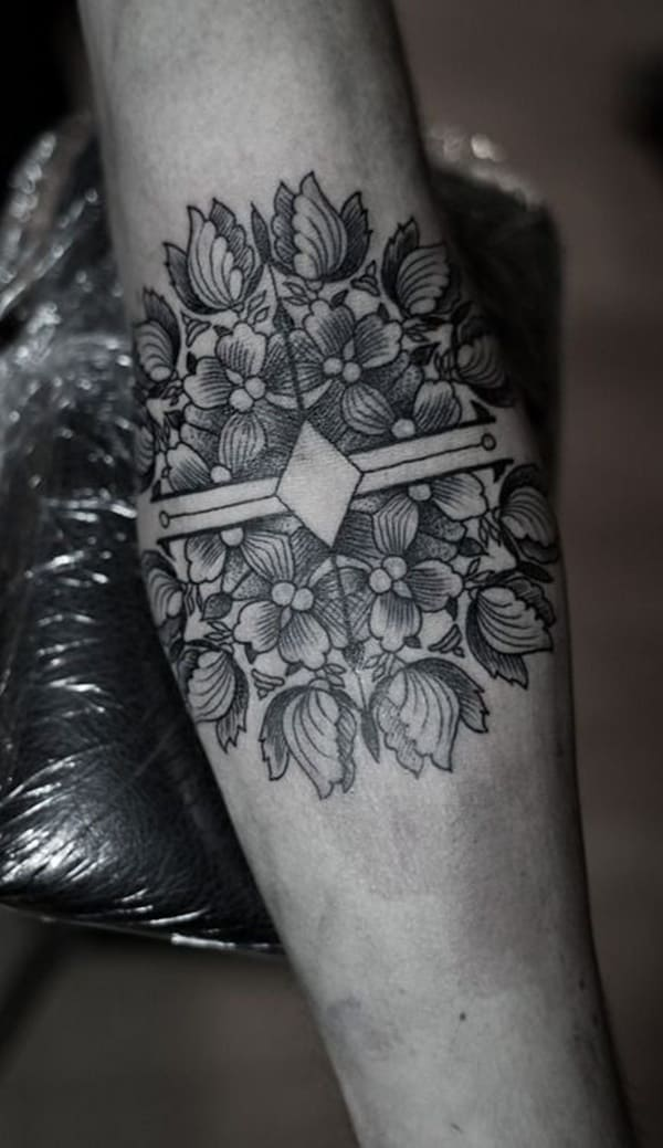 Flower Tattoos Tattoos Floral: 224 Small Flower Tattoos Meanings (Ultimate Guide, May 2020
