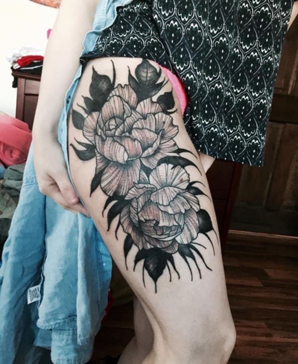 flower tattoo designs (75)