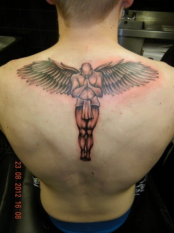 Guardian Angels Tattoos For Men