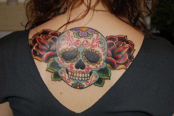 Mexican Sugar Skull Tattoo Designs