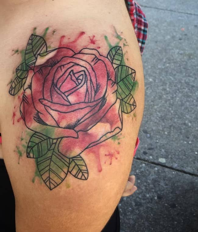 160 Small Rose Tattoos Meanings Ultimate Guide February 2019