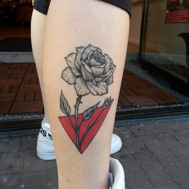 Tattoo Of Rose Small: 160 Small Rose Tattoos Meanings (Ultimate Guide, August 2019