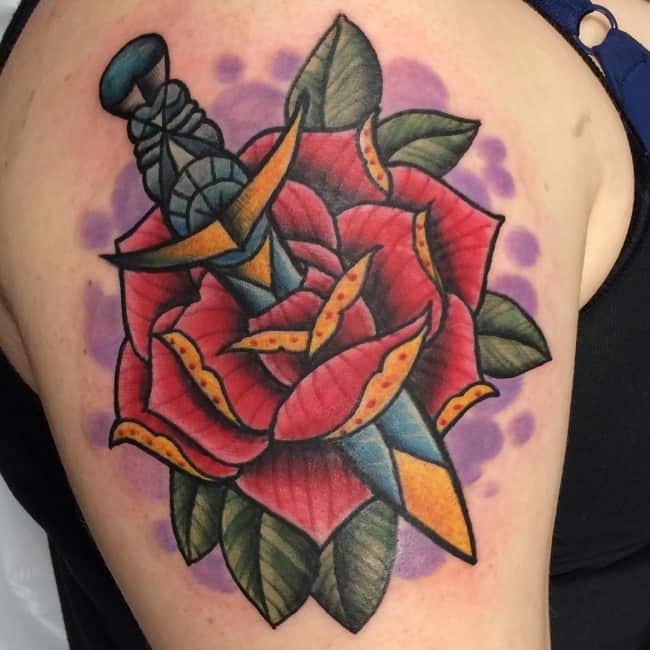 Best Rose Tattoo Designs Images
