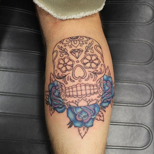 Sugar Skull Tattoo Designs And Ideas